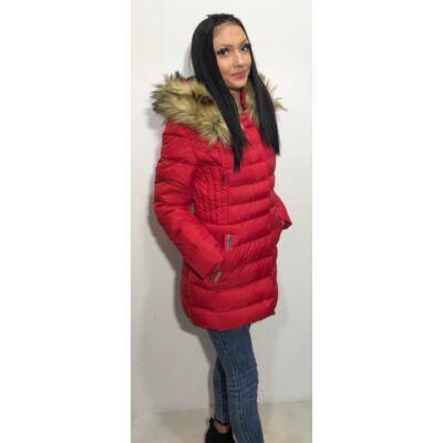 Miss Fofo Piros Téli Kabát  (Vm345)
