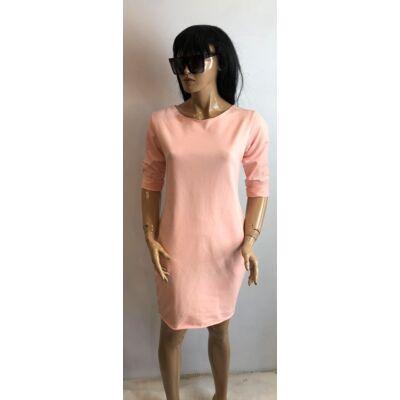 Rózsaszín Szinű Tunika Ruha (Vm456)