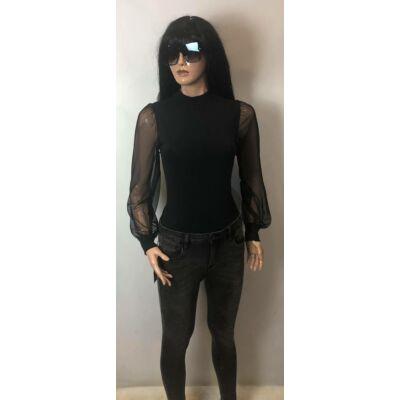 Fekete Hálós Body (vm919)