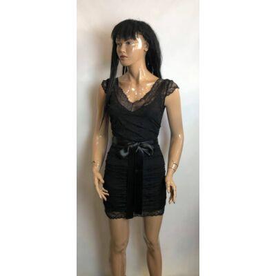 Kiki Riki Fekete Csipke Ruha (Vm1801)