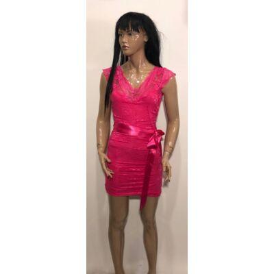 Kiki Riki Pink Csipke Ruha (Vm107)