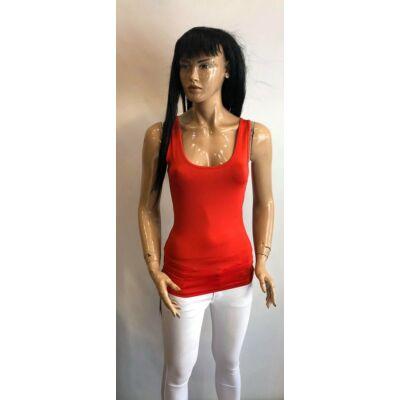 Kiki Riki Blouse Piros Trikó Normál Derékrésszel (Vm1520)