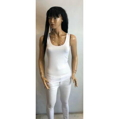Kiki Riki Blouse Fehér Trikó Normál Derékrésszel (Vm1516)
